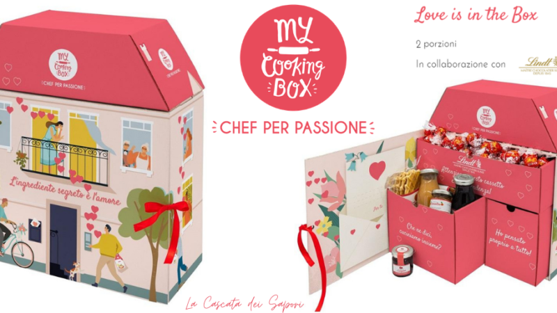 MY COOKING BOX: Love is in the Box – Speciale San Valentino