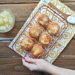 Tortine per la Colazione al Cocco e Ananas – Il Club del 27