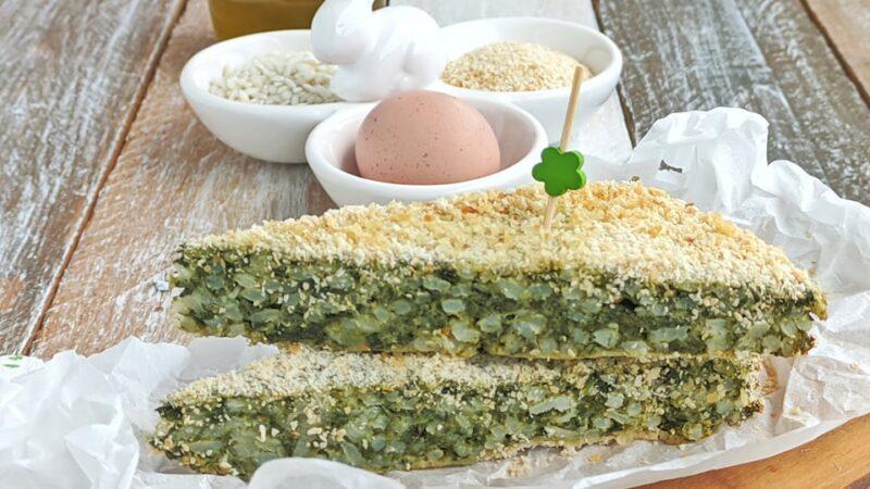 Torta Verde con riso e spinaci della nonna. Ricetta di Pasqua – L'Italia nel Piatto