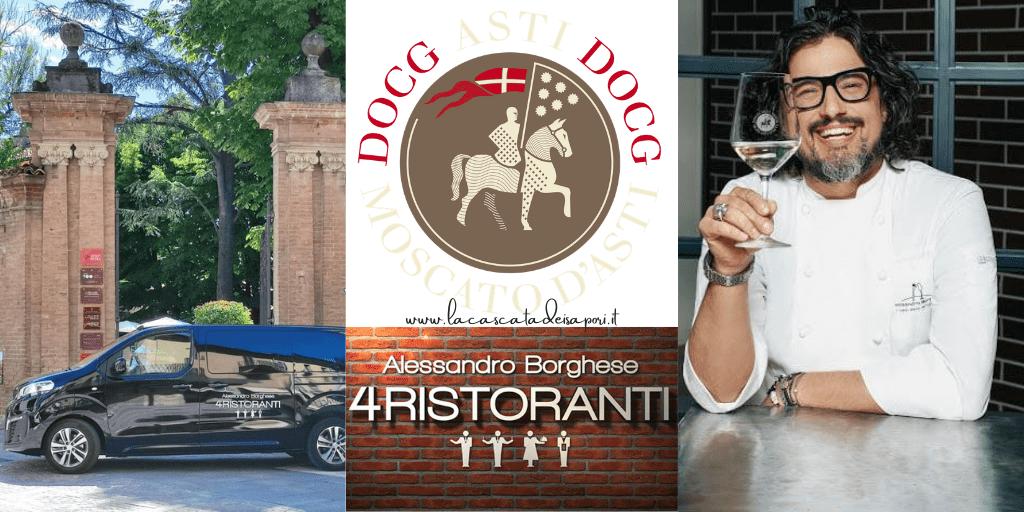 4 Ristoranti: Alessandro Borghese nell'Astigiano per le riprese della nuova edizione. Mi piace, VOTO 10!