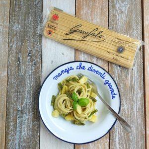 Trenette al Pesto con Fagiolini e Patate – Luca Disney Pixar